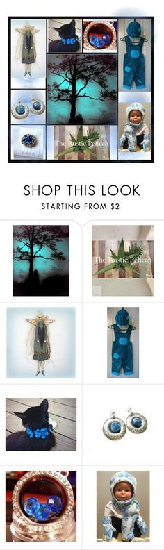 """Blue Moonlight"" by cozeequilts ❤ liked on Polyvore featuring rustic"