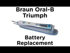 Oral B Triumph Battery Replacement 97