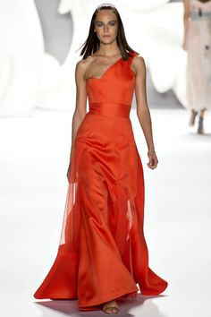 orange // Carolina Herrera S/S 13