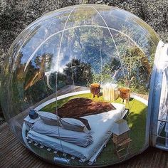 """156 Likes, 10 Comments - Luxury • Ambition • Lifestyle (@luxambition) on Instagram: """"Awesome Bubble Hotel in France  Would you sleep here? • Follow @exclusiv for more!  Unknown (dm)…"""""""