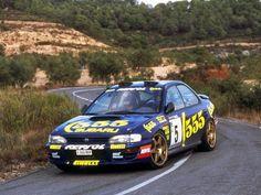 Subaru Impreza rally car | WRC Rally School @ http://www.globalracingschools.com