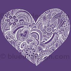 Intricate heart