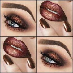 makeup pictures makeup with red dress makeup korean eye makeu. - Eye make-up - Makeup Remover, Makeup Brushes, Lip Makeup, Beauty Makeup, Makeup Art, Makeup Ideas, Drugstore Makeup, Huda Beauty, Witch Makeup