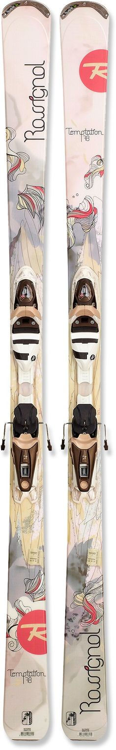 Rossignol Temptation 78 Skis with Bindings - Women s - ski season is upon  me and I am without skis! 56386c1930db