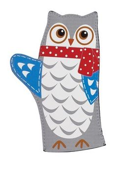 Snowy Owls Mitts -