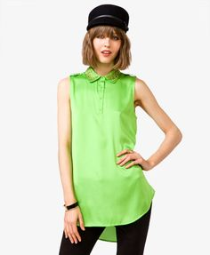 Embellished Neon Tunic | FOREVER 21 - 2025101258