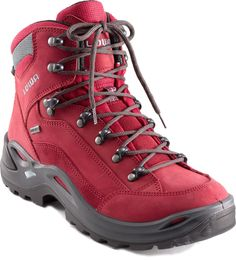 Lowa Renegade GTX Mid Hiking Boots - Women's - *I love the red!!!*