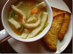 Chicken Noodle Soup by Iowa Girl Eats