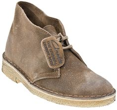 Another good DB  -  DANNY USED TO WEAR THIS KIND OF DESERT BOOT ALL THE TIME...
