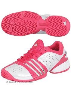 Adidas Barricade Adilibria Coral Pink Tennis Shoes.#TennisCouture #TennisFashion