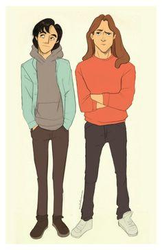 Tarzan and Eric