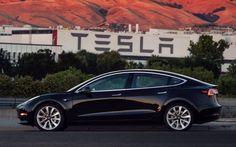Tesla Model 3の生産モデル第1号はこれだ | TechCrunch Japan