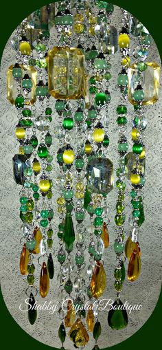 Claudia Crystal Wind Chime by SCrystalBoutique on Etsy