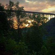 New River Gorge Bridge. Fayette Co. West Virginia.  -ET
