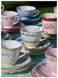 Old crockery.