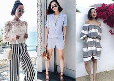 Método utilizado por Chriselle Lim facilita a montagem dos looks. Fotos: Reprodução/Instagram @chrisellelim