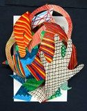 Artsonia Art Exhibit :: Stella-Style Paper Relief Sculpture