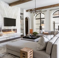 Get inspired by Traditional Living Room Design photo by Marie Flanigan Interiors. Wayfair lets you find the designer products in the photo and get ideas from thousands of other Traditional Living Room Design photos. Home Living Room, Living Room Designs, Living Room Decor, Living Spaces, Living Room Ideas Old House, Small Living, Bedroom Decor, Living Room Kitchen, Living Area