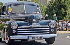 American car procession - Hungary, Komarom by Csibu83