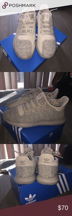 Tubular shadow adidas In excellent condition size 6 in kids but fits size 7-71/2 in women's. NO trades/low offers, just want to make my Money back Adidas Shoes Sneakers