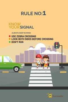 Road Safety Tips : Make roads safer for kids, Drive Responsibly – The Mommypedia Safety Rules On Road, Road Safety Quotes, Road Traffic Safety, Road Safety Poster, Safety Rules For Kids, Road Rules, Safety Week, Safety Posters, Safety Tips