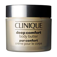 Deep Comfort Body Butter, a friend of mine said if you apply this to your belly while pregnant it helps with stretch marks