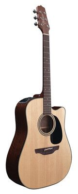 Takamine EF340SC Acoustic Electric Guitar with Hardshell Case