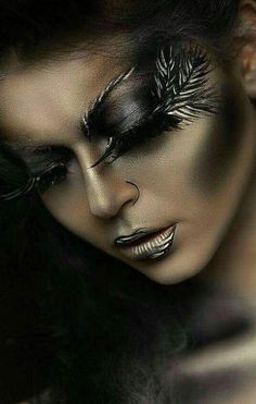 Halloween Make-up: Tatiana Zolotashko Makeup Artist Make Up Looks, Beauty Make-up, Hair Beauty, Eye Makeup, Hair Makeup, Exotic Makeup, Makeup Hairstyle, Hairstyle Ideas, Extreme Makeup