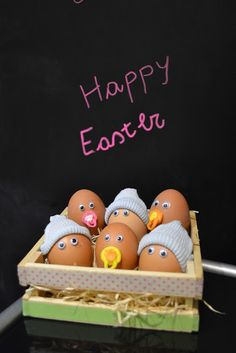 10 EASTER EGGS CRAFTS - Babies eggs