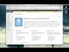 Step-by-Step Guide to Creating a WordPress.org Blog at HostGator - YouTube
