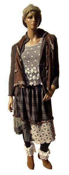 DK900 Rock Mori Girls Vintage Lagenlook Romantik  von MEIN DESIGN           Lagenlook de Mallorca auf DaWanda.com