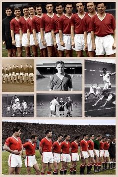 Busby Babes. #mufc Manchester United Gifts, Manchester United Legends, Manchester United Players, Munich Air Disaster, Man Utd Squad, Duncan Edwards, Bristol Rovers, Bobby Charlton, School Football