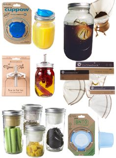 A creative way of using your favorite canning jar for something besides jelly: