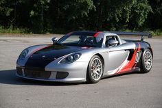 One of a mere 9 delivered new to Belgium,2005 Porsche Carrera GT Coupé  Chassis no. WPOZZZ Z4L 000 145
