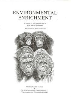 Environmental Enrichment Manual | Book | Jane Goodall Institute Netherlands