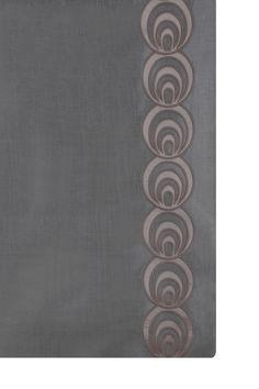 Our stunning bold Circular embroidery creates a beautiful leading edge