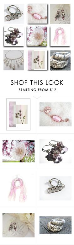 """""""Pink Whispers"""" by fibernique ❤ liked on Polyvore"""