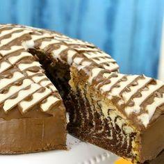 Gâteau Kinder marbré - trop miam miam yummy