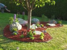 Simple landscaping designs around trees | 6024666 f260 Easy DIY Landscaping Build a Rock Garden