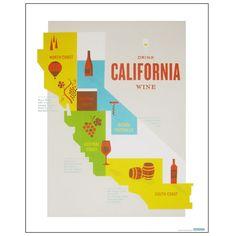 Wine Country Travel Posters Hatch Design,... | Vinology Magazine