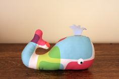 Whale softies! by ohbabylee, stuffed animal diy pattern tutorial