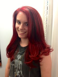 Red Hair! Long Layers