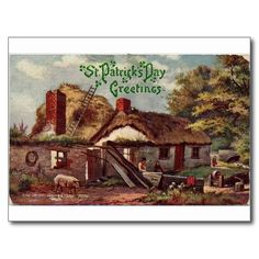 St. Patrick's Day Post Card