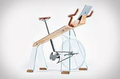 After lending their design expertise to the world of indoor table games with their beautiful ping pong, pool, and foosball tables, Adriano Design is ready to tackle home exercise equipment. The Fuoripista Exercise Bike is the fruit of their labor...
