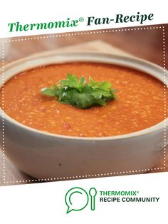 Recipe Emergency Lentil Soup by Dani Valent, learn to make this recipe easily in your kitchen machine and discover other Thermomix recipes in Soups. Lentil Recipes, Soup Recipes, Cooking Recipes, Thermomix Soup, 5 Recipe, Lentil Soup, Recipe Community, Food N, Lentils