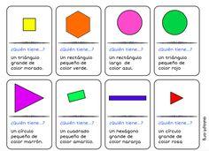 Seguimos con la geometría 2D y 3D, os traigo ahora una nueva versión del juego de 24 cartas Yo tengo… ¿Quién tiene…? que ya os