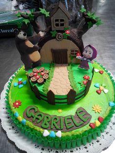 Masha & Orso Cake