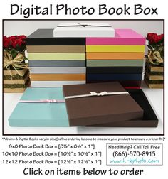 Digital Photo Book Boxes!
