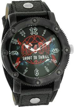 AC/DC Armbanduhr Shoot to Thrill - http://besteckkaufen.com/ac-dc/ac-dc-armbanduhr-shoot-to-thrill