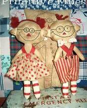 Raggedy Ann & Andy ~ patterns